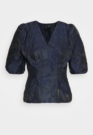 VMJACARLA VNECK - Blouse - night sky
