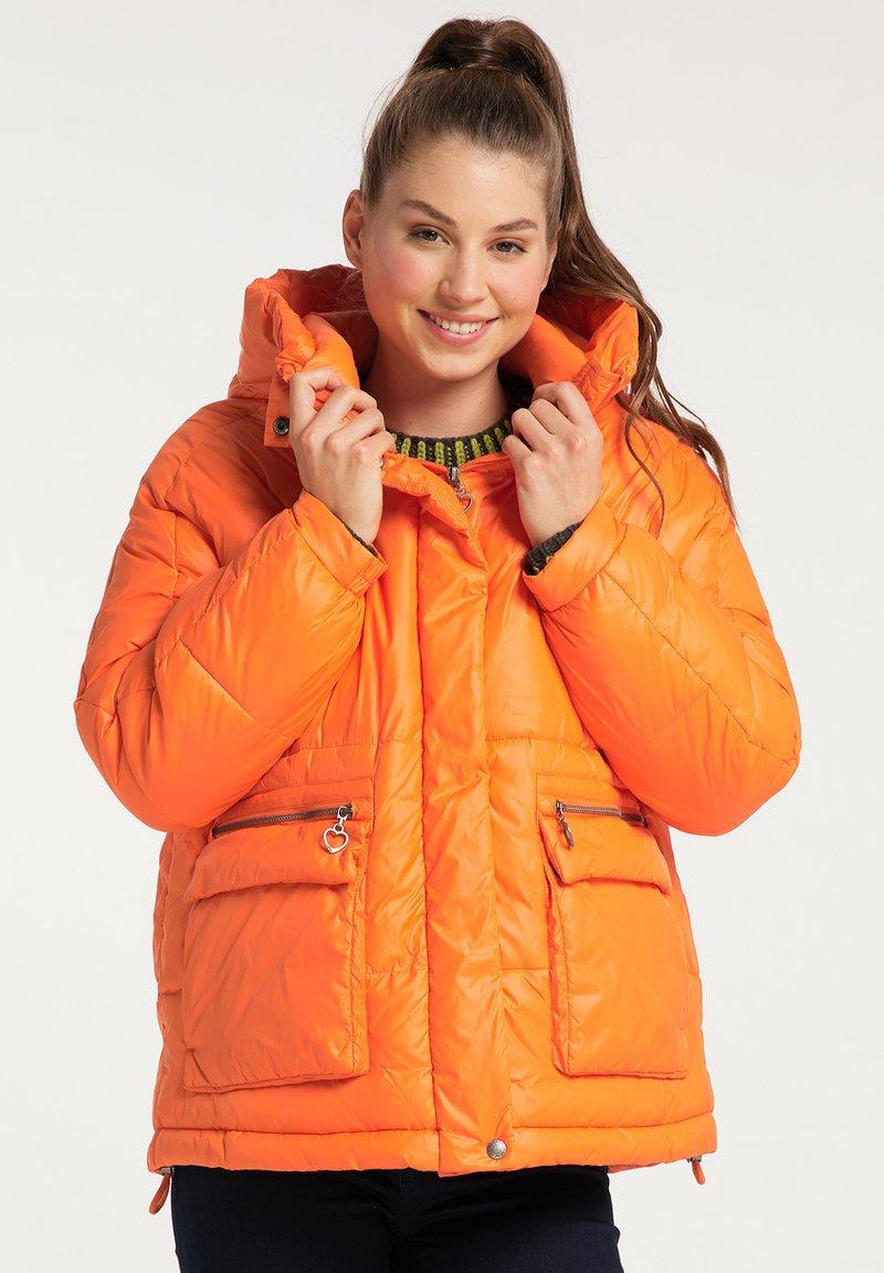 myMo - Winter jacket - orange