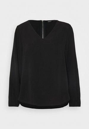 ONLVIC SOLID V NECK - Blouse - black