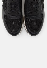 Tamaris Pure Relax - LACE UP - Trainers - black - 5