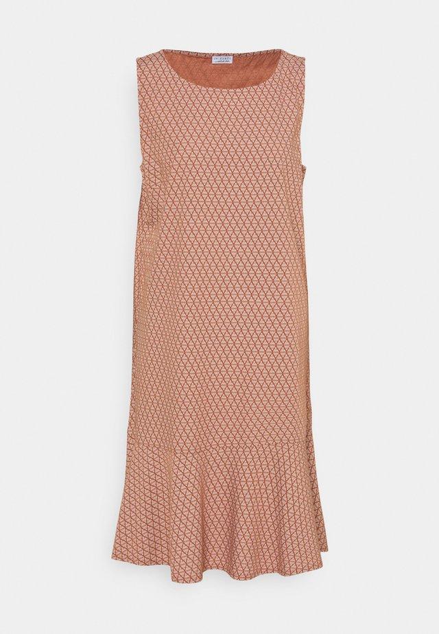 PRINTED DRESS GRAPHIC - Sukienka letnia - tuscany