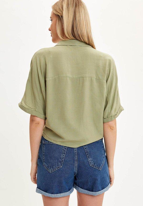 DeFacto Koszula - turquoise/miętowy WNTT