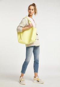 myMo - Tote bag - hellgelb - 0