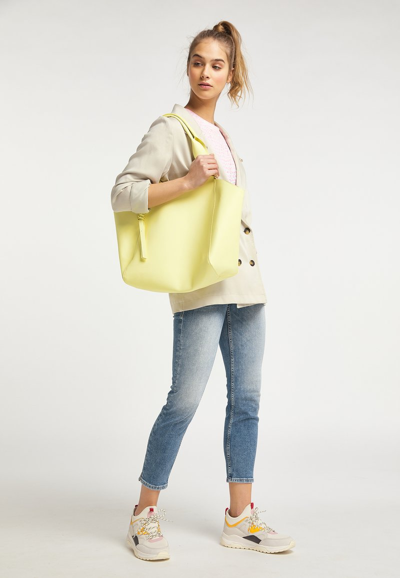 myMo - Tote bag - hellgelb
