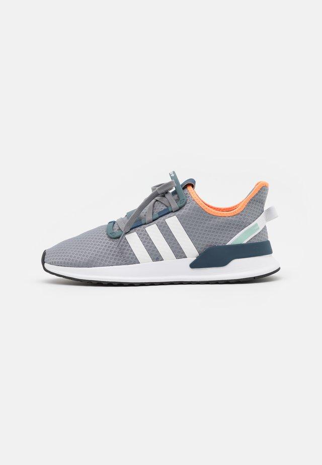 U_PATH RUN UNISEX - Trainers - grey three/footwear white/blue oxide