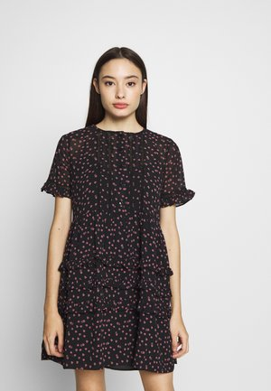 DITSY LADDER TRIM MINI - Vestido informal - black