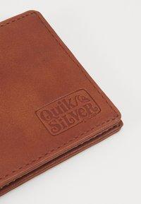 Quiksilver - SLIM FOLDER - Wallet - natural - 3