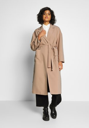 VICATE OVERSIZED LONG COAT - Classic coat - beige