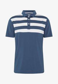 Puma Golf - PARS AND STRIPES - Funkční triko - dark denim - 3