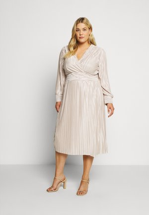 ZAPA MIDI DRESS - Cocktailkjoler / festkjoler - cream