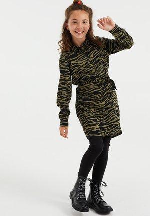 MET DESSIN - Shirt dress - army green