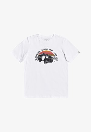COME SAIL AWAY YOUTH - Print T-shirt - white
