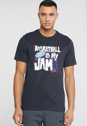 DRY TEE BBALL JAM - Print T-shirt - black/game royal