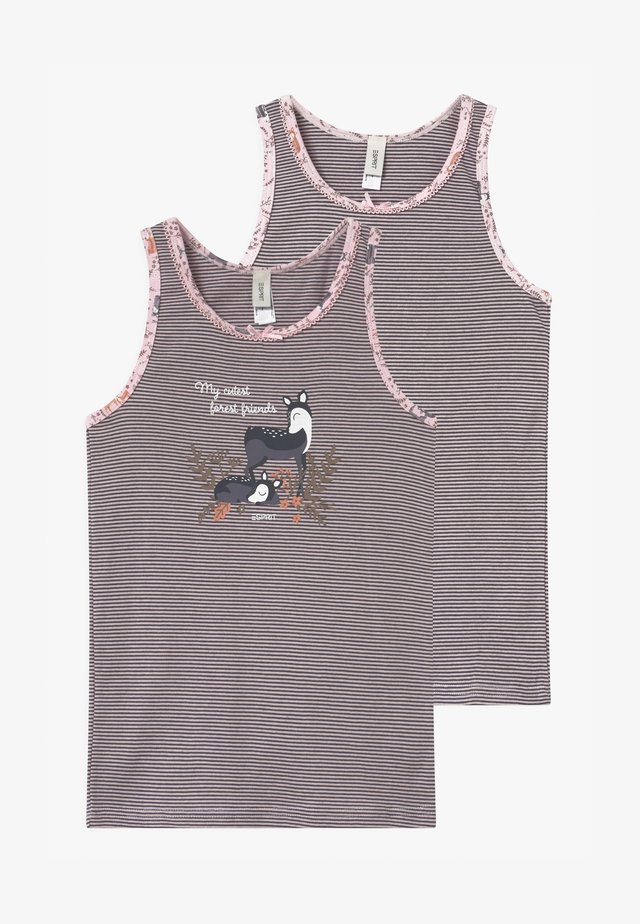 HANNIE 2 PACK - Camiseta interior - light pink