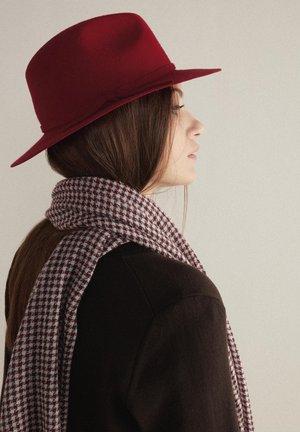 FEDORA - Hat - rot - rouge