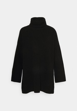 SLFKATTY LONG ROLLNECK - Pullover - black