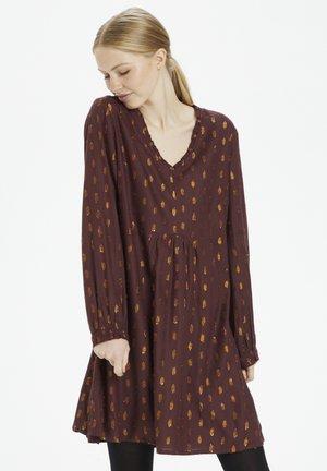 MASCHACR  - Day dress - decadent chocolate
