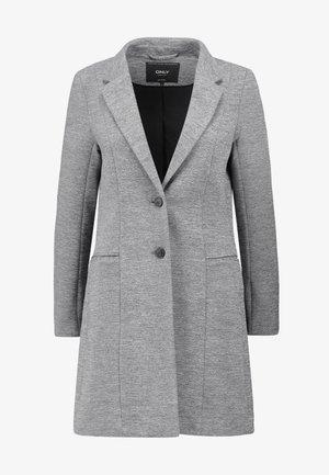 LINDA - Short coat - medium grey melange