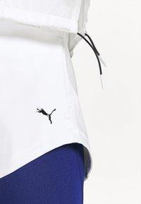 Puma - TRAIN ULTRA HOODED JACKET - Training jacket - puma white - 4