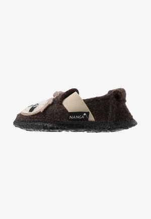 SHAGGY SLOTH - Slippers - braun