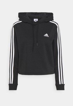 Sweat à capuche - black/white