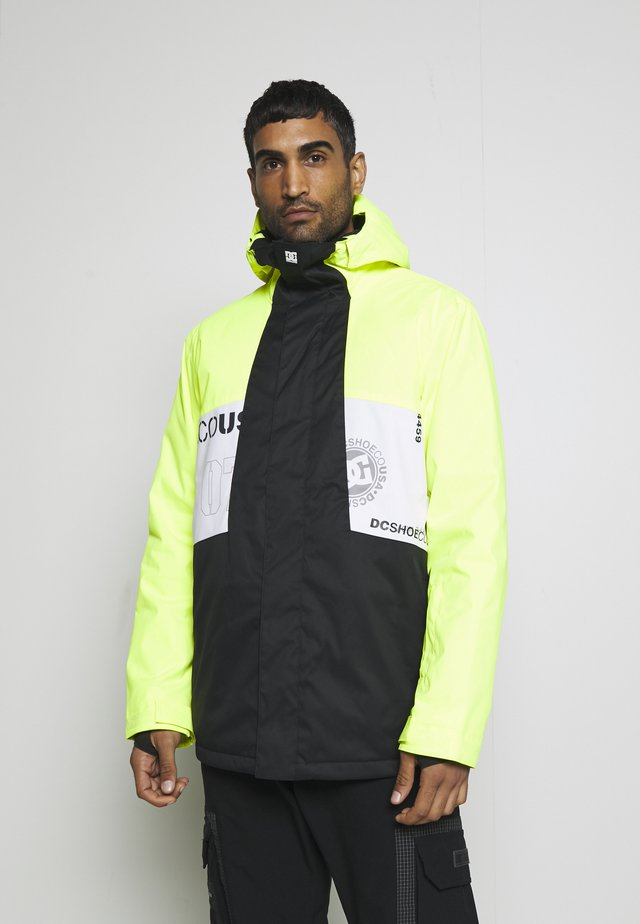 DEFY JACKET - Snowboardjakke - syndicate white