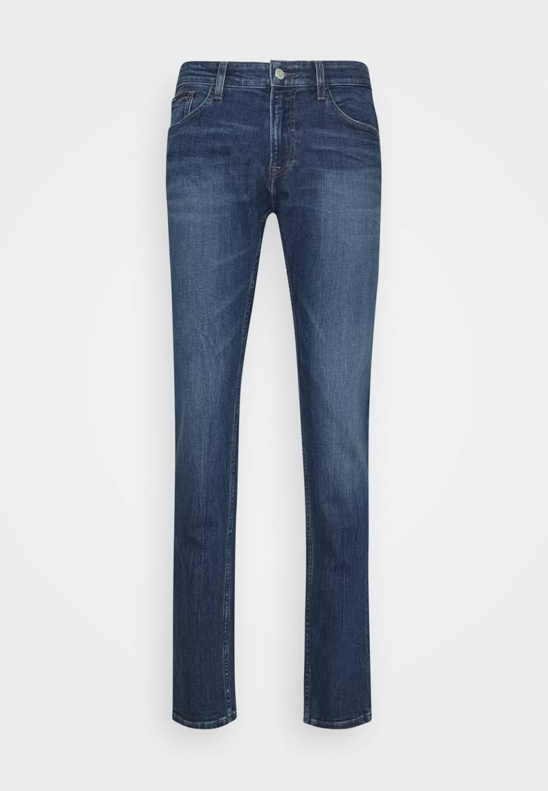 Tommy Jeans - SCANTON SLIM - Slim fit -farkut - denim medium