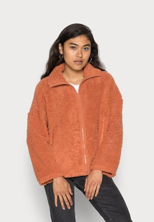 GABBY - Fleece jacket - orange