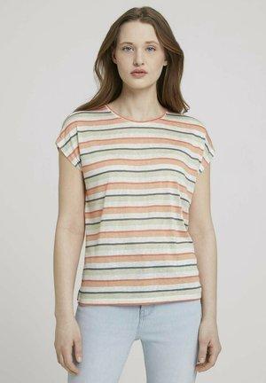 T-shirt basique - multicolor stripe