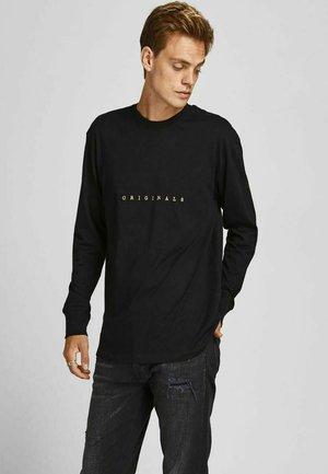 KLEINER - Camiseta de manga larga - black
