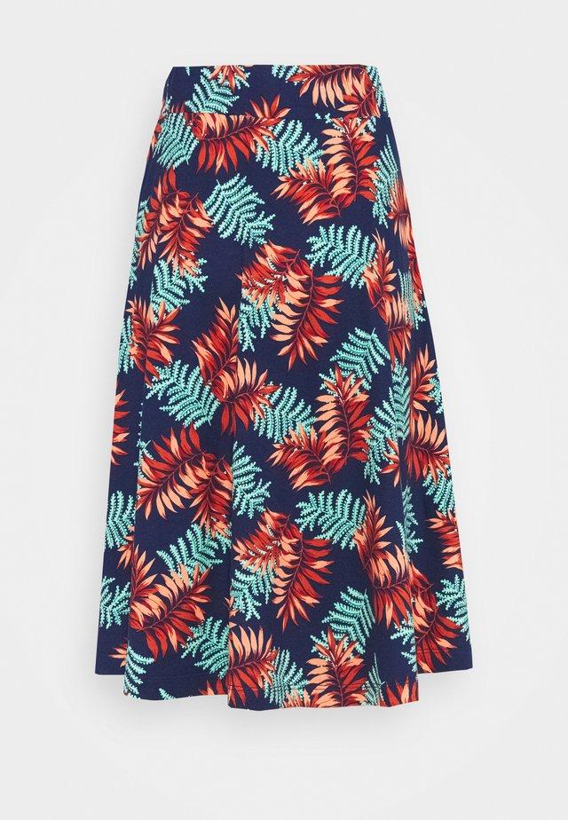 SERENA SKIRT PALO VERDE - A-line skirt - peacoat blue