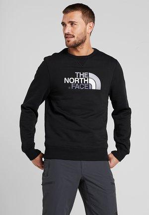 MENS DREW PEAK CREW - Sweatshirt - black