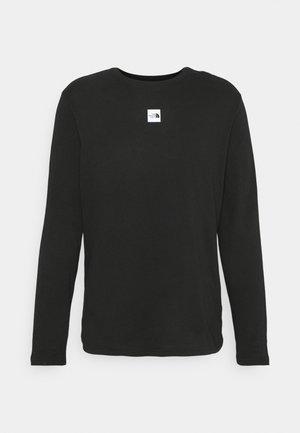 CENTRAL LOGO - Long sleeved top - black