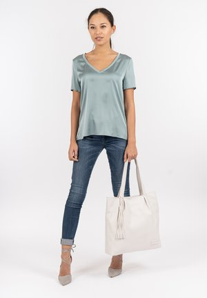 STACY - Tote bag - white