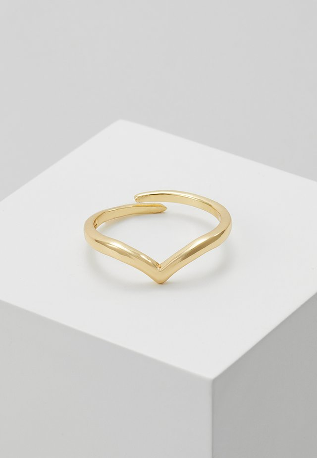 Ringe - gold-coloured