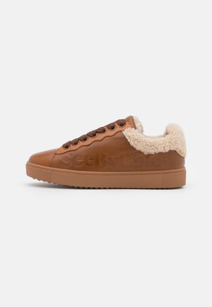 ESSIE - Sneakersy niskie - tan