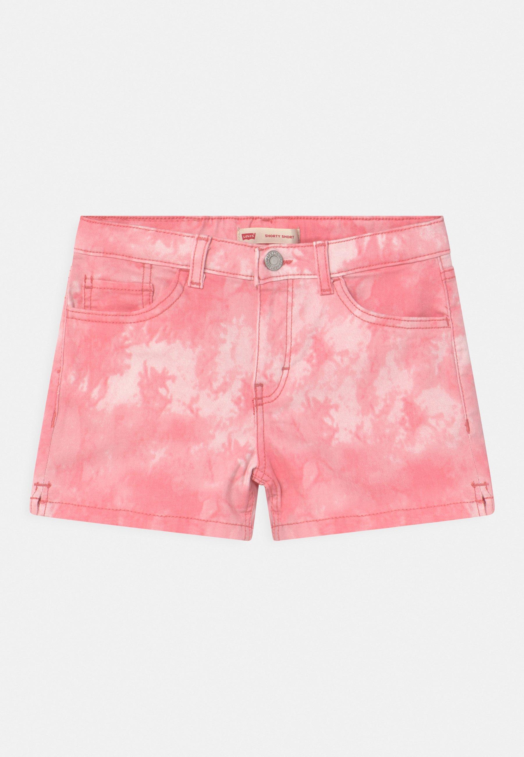 Kids TIE DYE SHORTY  - Denim shorts