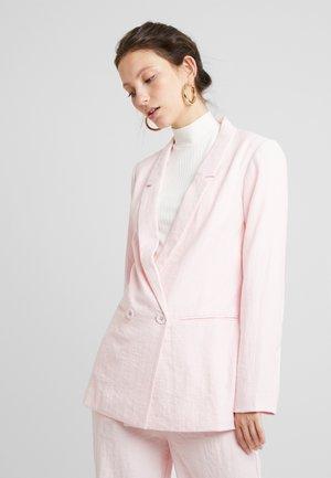 HAPER - Short coat - rose