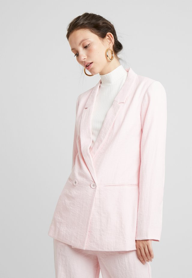 HAPER - Short coat - rose