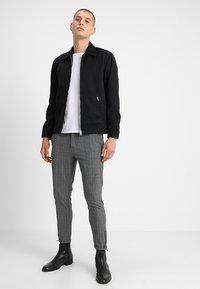 Gabba - PISA ENGLISH - Trousers - grey check - 1