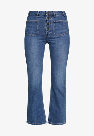 PASSION - Flared jeans - bleu