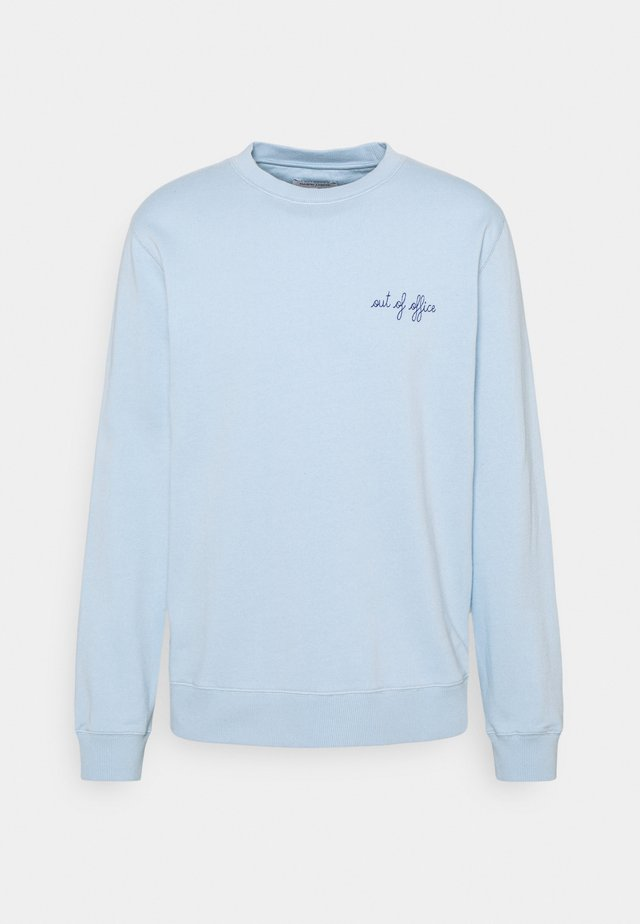 Sweatshirt - sky blue