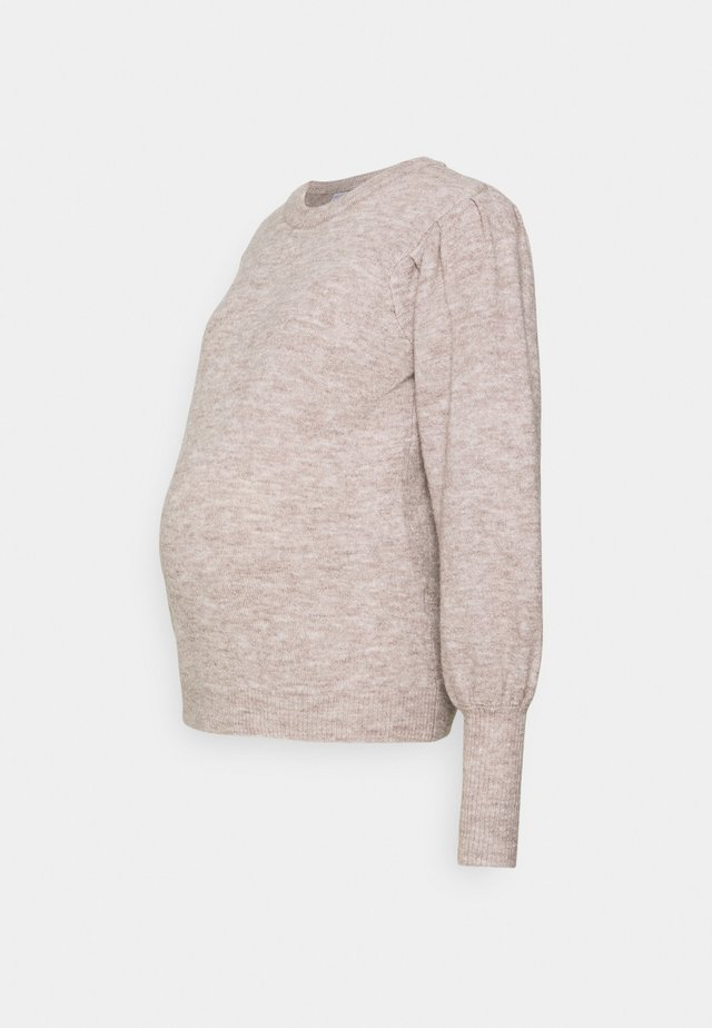 PCMPAM ONECK - Jumper - warm taupe