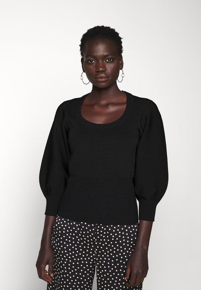 BETH - Sweter - black