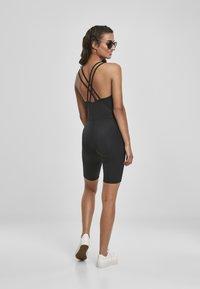 Urban Classics - FRAUEN LADIES CYCLE JUMPSUIT - Jumpsuit - black - 5