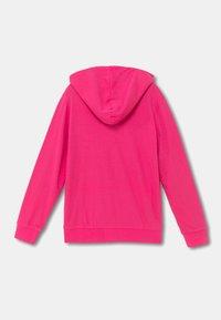 Desigual - FLORA - Sweater met rits - red - 1