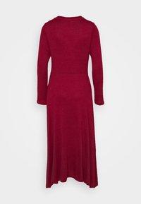 Banana Republic - VNECK COZY - Jumper dress - mulled cranberry - 8