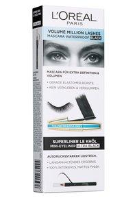 L'Oréal Paris - MASCARA-SET: VOLUME MILLION LASHES WATERPROOF + SUPERLINER LE KHÔL MINI - Makeup set - - - 3