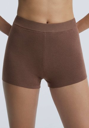 Pyjama bottoms - brown