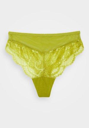 DELILAH HIGH WAIST BRIEF - Slip - citron